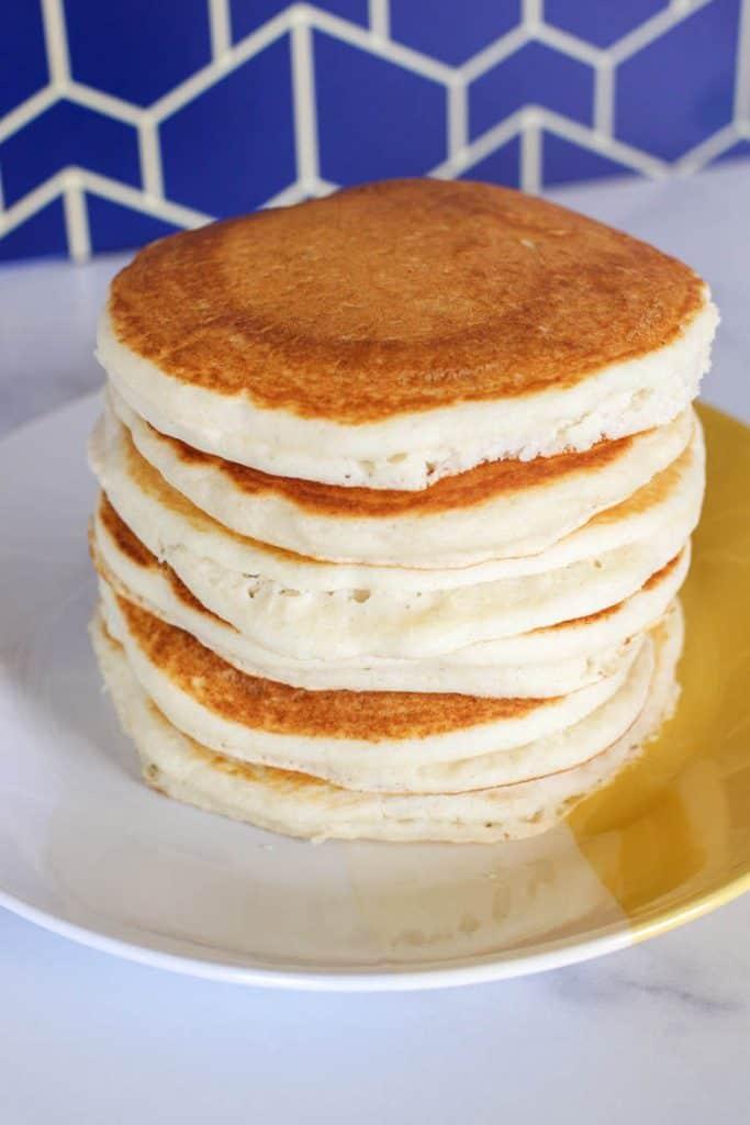 Easy Vegan Bisquick Pancakes