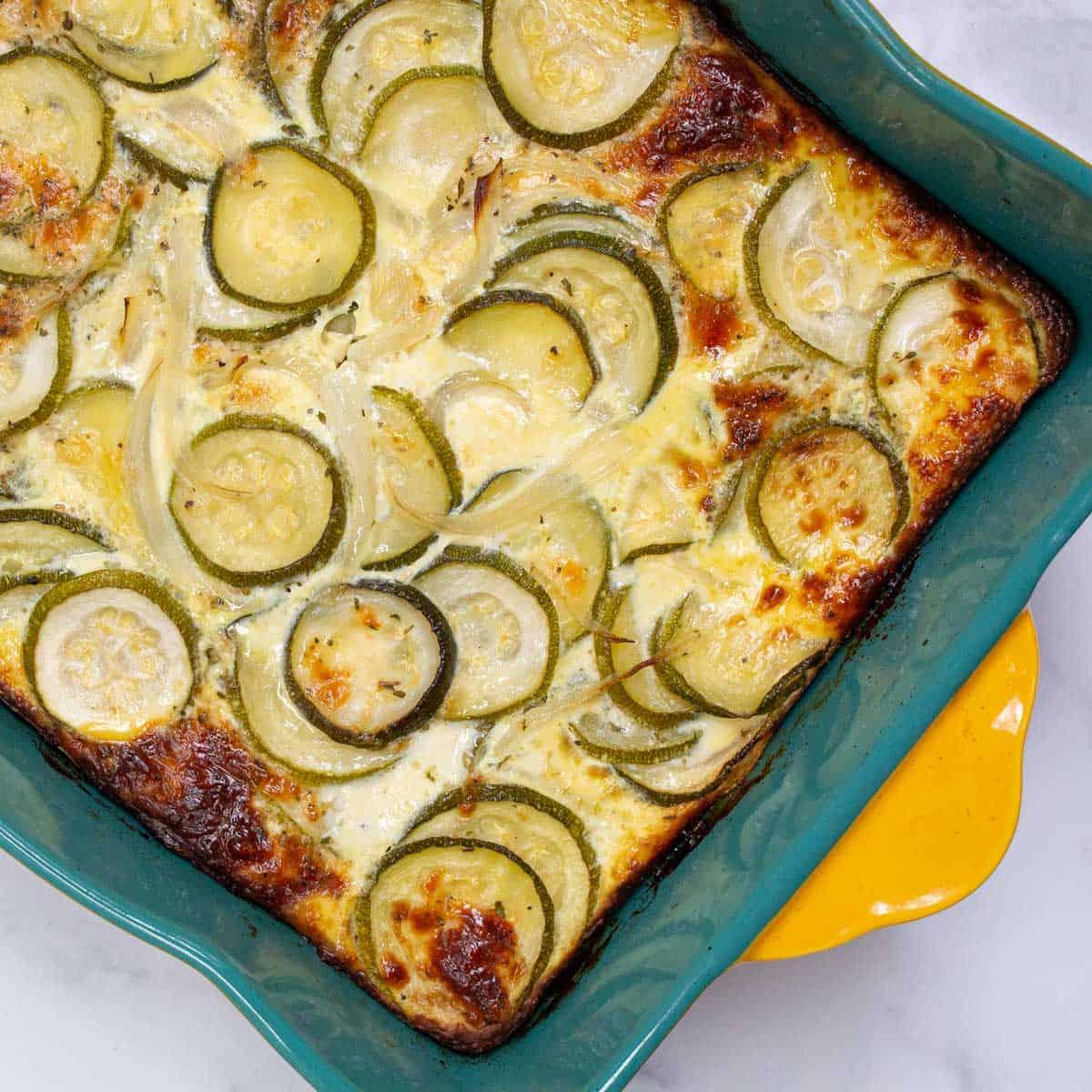 Cheesy Zucchini Casserole.