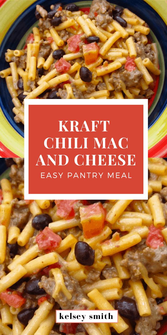 Kraft Chili Macaroni and Cheese