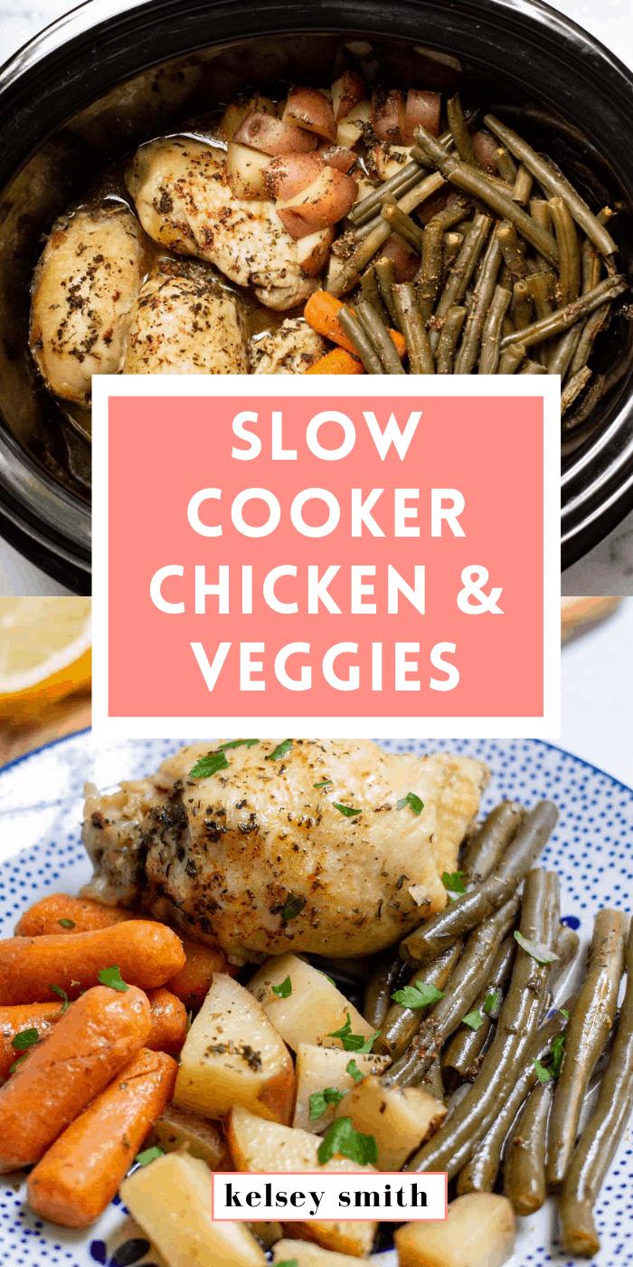 Slow Cooker Chicken and Veggies