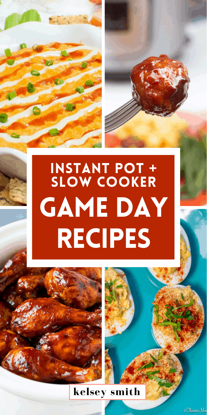 Instant Pot and Slow Cooker Game Day Recipes