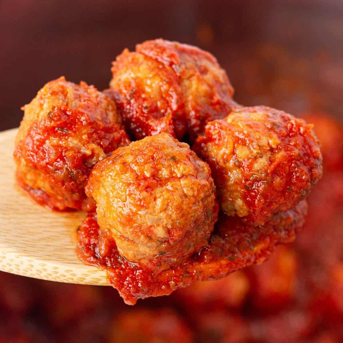 Easy Instant Pot Italian Meatballs