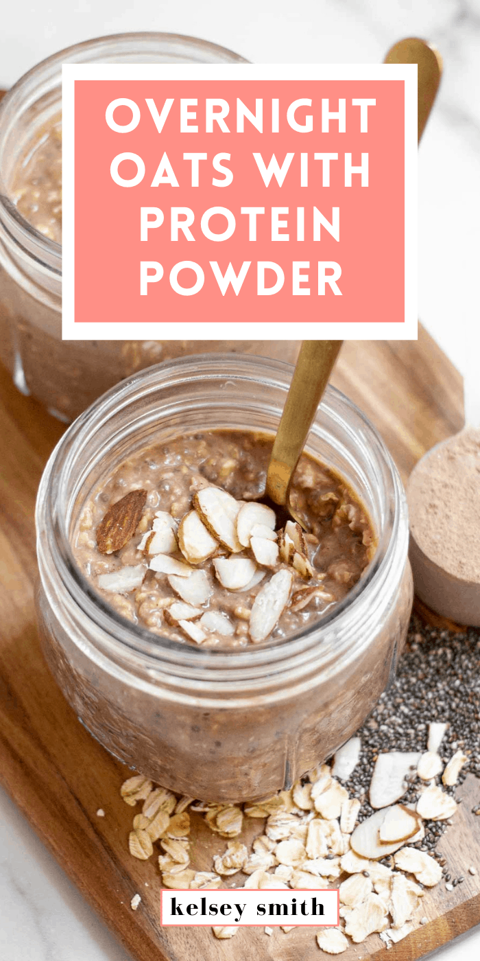 Overnight Oats with Protein Powder