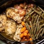 Slow Cooker Chicken and Veggies.
